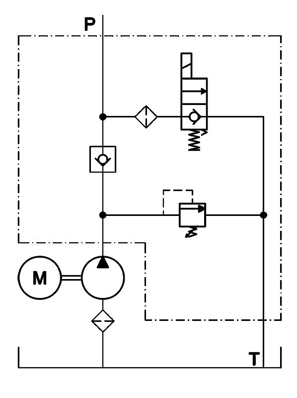 Hydraulic Power Unit Schematic Wiring Diagram